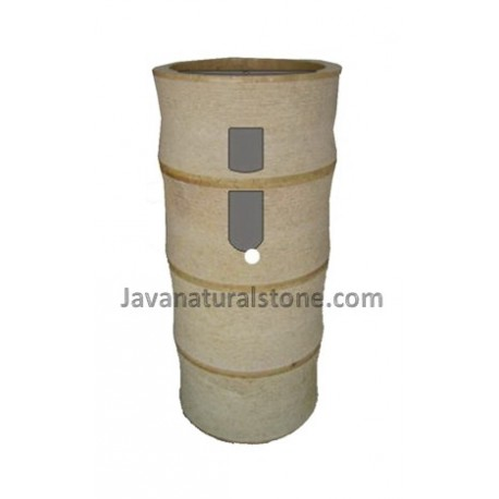 Round Pedestal Banboo