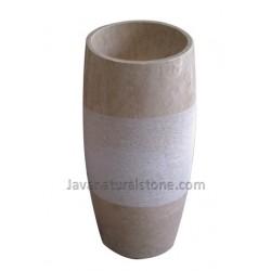 Round Pedestal Gentong
