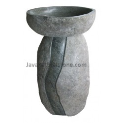 Natural Pedestal River Stone