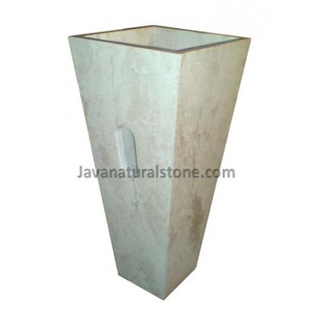 Square Pedestal Full Polished