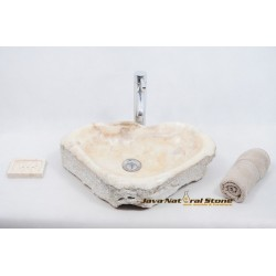 Square Washbasin Marble